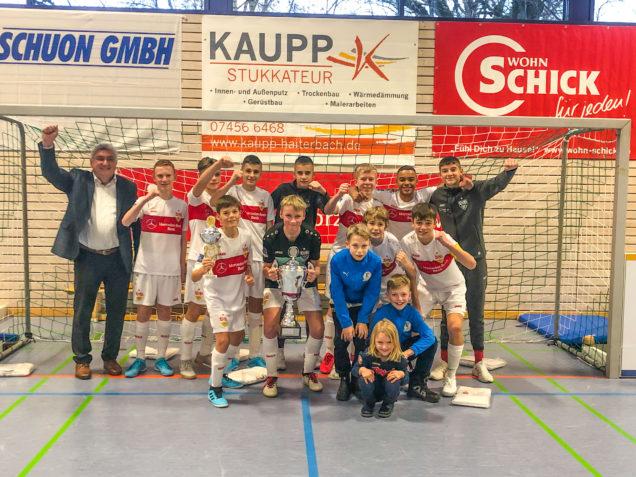 Budenzauber beim U14-Hallenfußballturnier des TSV Haiterbach