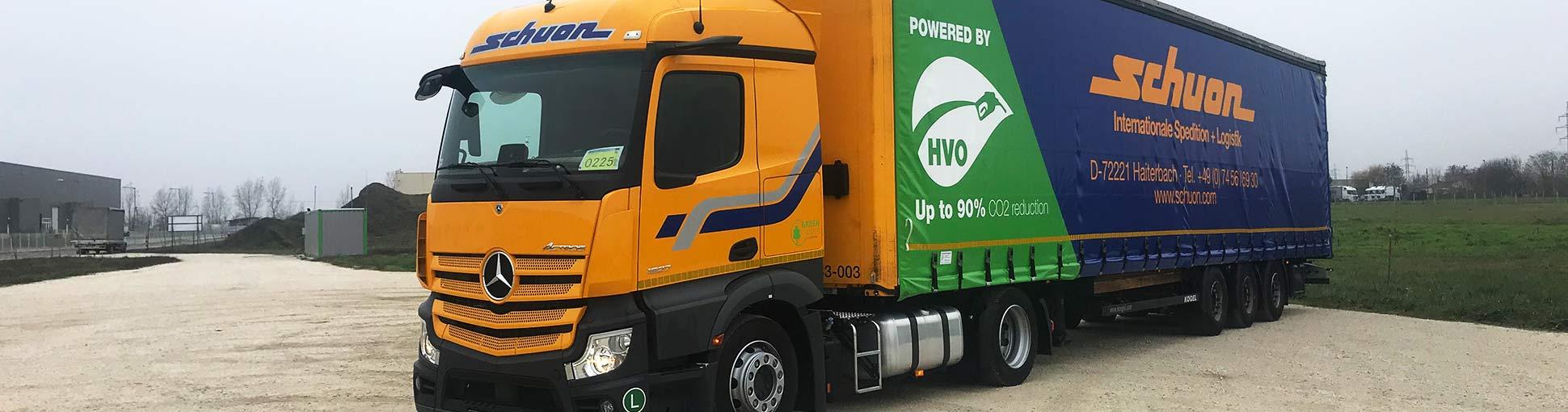 Innovationen HVO Transportlogistik