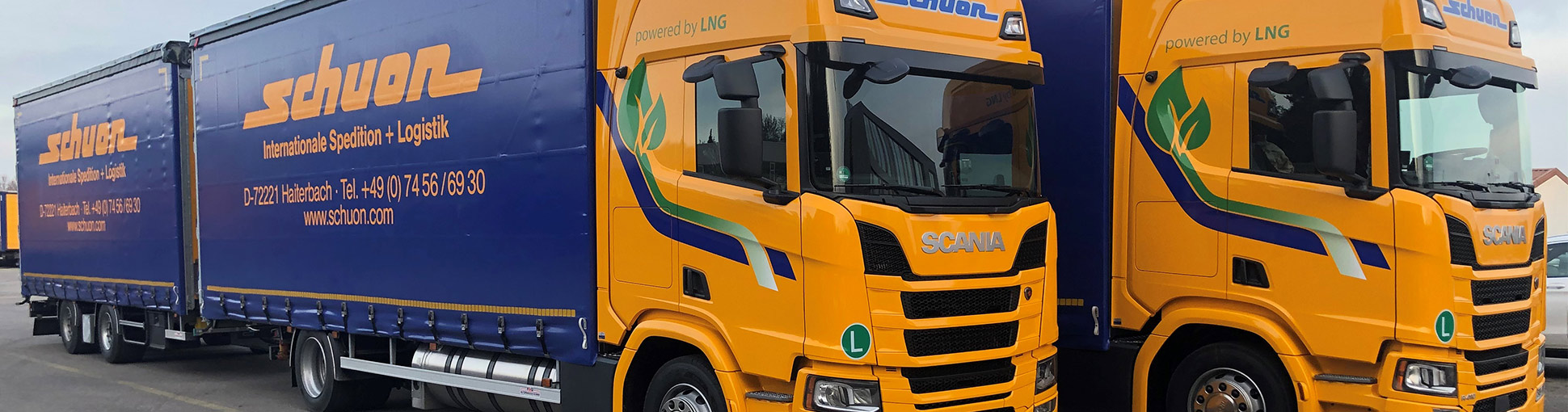 Transportlogistik Innovationen lng