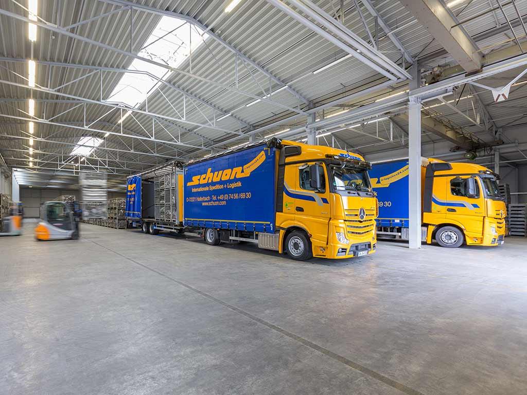 Automotive logistics Kontraktlogistik