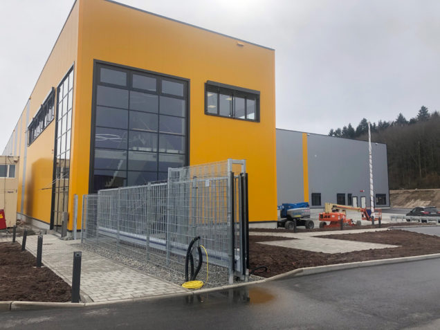 Neues Logistikcenter in Wildberg/Sulz am Eck ist fertig