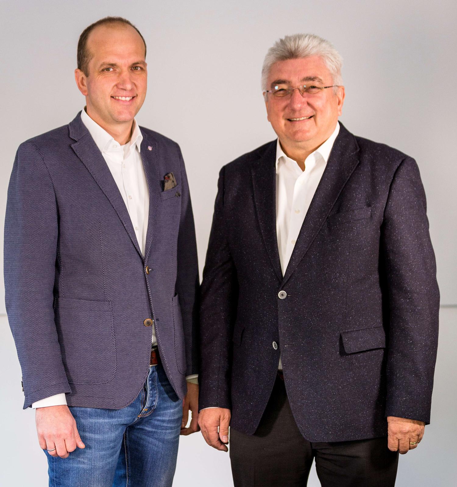 Geschäftsführer Alexander Schuon und Theo Schuon
