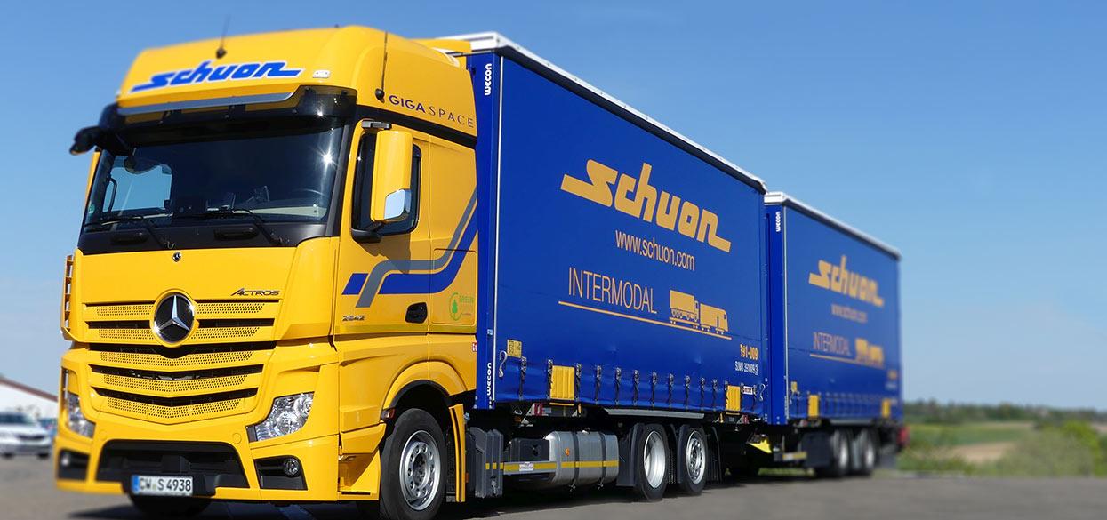 Schuon. Logistik, Transportlogistik, Kontraktlogisitk